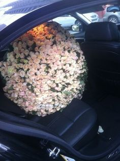 omgawwd, to receive a bouquet like this! gahhhh! i die.