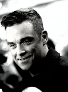 Everybody Loves Somebody — Robbie Williams Robbie Williams Take That, S Williams, Gary Barlow, Famous Black, Boy Hairstyles, Male Beauty, Music Bands, A Good Man, Sexy Men