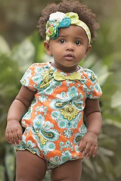 Baby by Persnickety Clothing - Sweet Pea Lyla Romper in Multi