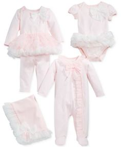 First Impressions Tutu Layette Collection, Baby Girls, Created for Macy's Winter Newborn, Baby Girl Winter, Cute Baby Girl, Baby Girls, Going Home Outfit, Take Home Outfit, Girls Winter Outfits, Kids Outfits, Toddler Outfits