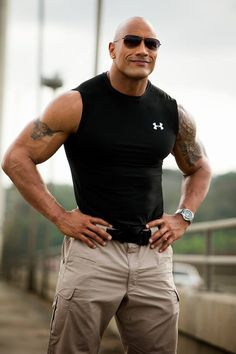 My future husband! Lol. The Rock ~ Dwayne Johnson ❤
