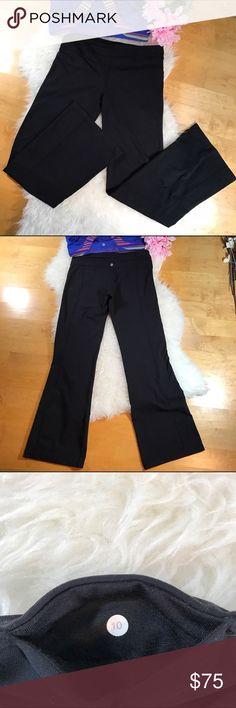 Lululemon🍋Yoga Pants! Sz 10 Lululemon🍋Yoga Pants! •EUC •Bootcut style lululemon athletica Pants Boot Cut & Flare