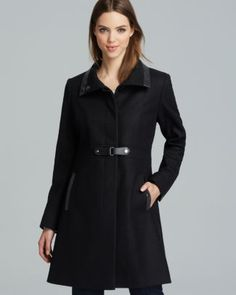 Via Spiga Coat - Wool Toggle  Bloomingdale's