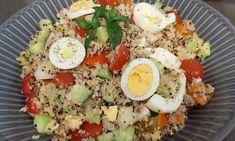 Γεμιστές πιπεριές !!! Cobb Salad, Salads, Recipes, Food, Essen, Meals, Ripped Recipes, Yemek, Salad