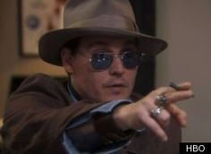 """Johnny Depp made a hilarious cameo appearance on Sunday night's episode of """"Life's Too Short"""" (Sun., 10:30 p.m. EST on HBO)."""