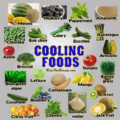 Cooling Foods