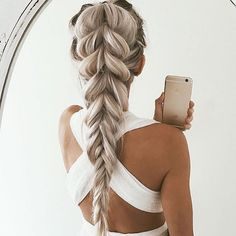 50 Gorgeous Prom Hairstyles For Long Hair - Hair Styles - Frisuren Prom Hairstyles For Long Hair, Cool Braid Hairstyles, Pretty Hairstyles, Hairstyle Ideas, Romantic Hairstyles, Long Haircuts, Wedding Hairstyles, Summer Hairstyles, Formal Hairstyles