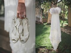 White wedding shoes. LVL Weddings & Events/Photography:DnA Wylie Photography/Catering:MIHO gastrotruck/Venue:Bandy Canyon Ranch Escondido, California/Florals:Murjhana at Floral Fantasia/Paper Goods:CRAFTE design/Photo Booth:Amigo photobooth/ Hair:Barbara Gonzales/Makeup:Jennifer Edwards/Officiant:Pastor Jon Nichols, Hope Church North Park/Groom's Tux: J.Crew/Bride's Dress: second hand purchase from Preowned Wedding Dresses/Reception Capelet:BHLDN/DJ:Tim Hwang/Emcee:John Morin/Sound:Alex Fine Jennifer Edwards, Southwestern Ranch, Escondido California, White Wedding Shoes, Bhldn, Event Photography, Paper Goods, Photo Booth, Wedding Events