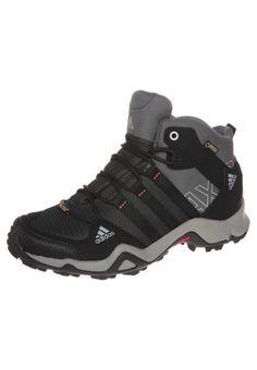 adidas Performance AX2 MID GTX Buty trekkingowe carbon/black/sharp grey