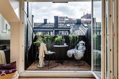 Foto di terrazza in stile  : 37 mq intelligenti | homify
