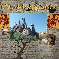 Wizarding World of Harry Potter - MouseScrappers.com