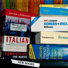 One thing I would like to accomplish is to learn a new language.  Spanish and Italian have always been fascinating to me