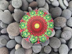 Image of Christmas in July 04 - Mandala Stone