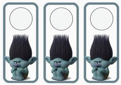 Trolls Holiday Door Hangers – Birthday Printable