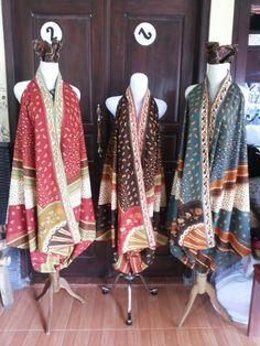 Batik dress design 12a,12b,12c