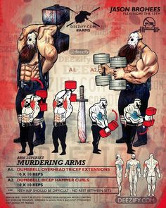 Arm Workout | Posted By: CustomWeightLossProgram.com