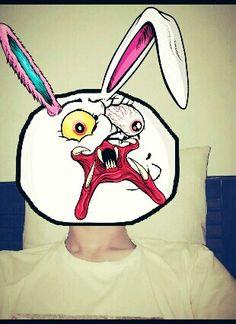 Ma scary moodface.