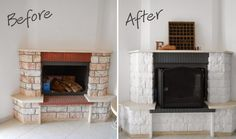 aouts-pins: The Big Project: Fireplace makeover!