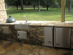 outdoor+kitchens | Outdoor Kitchens & Fireplaces - Southern Outdoor Construction ...