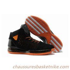 the best attitude 822e2 47291 Nouveaux Hommes Adidas Rose 3.0 Chaussures de Basket-ball Noir Orange Best  Sneakers, Black