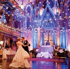 Cinderella wedding reception