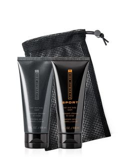 Delight him with the limited-edition MK High Intensity Gift Set – featuring two refreshing hair and body washes. Learn more.