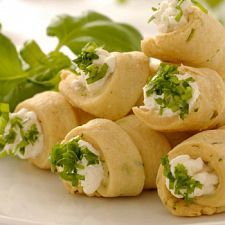 Baked Cream Cheese Roll Ups