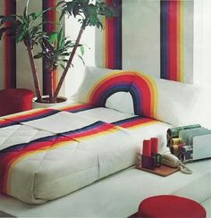80s rainbow sheet set - I had these