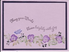 another sample using Tapestry peg stamps
