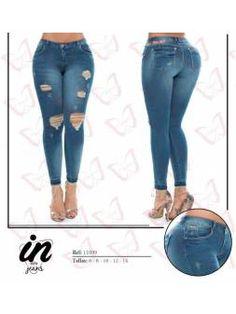 Vaquero Levanta Cola 11103 Skinny Jeans, Pants, Color, Fashion, Cowboys, Pockets, Trouser Pants, Moda, La Mode