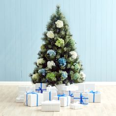 Christmas trees can still look beautiful, no matter how big or small.