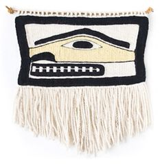 """HUMANOID"" CHILKAT WEAVING BY ANNA BROWN EHLERS"