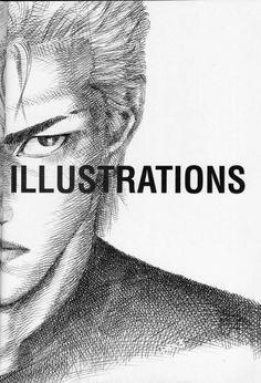 INOUE TAKEHIKO Slam Dunk Manga, Inoue Takehiko, Slammed, Drawing Tips, Anime Manga, Book Art, Drawings, Movie Posters, Fictional Characters