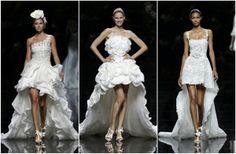 Brautkleid kurz in weiß