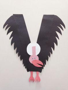Letter V craft,  V for Vulture