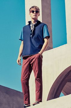 Mango Embraces Blue Fashions for Latest Look Book