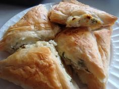 Tyropitakia - Greek Cheese Pies