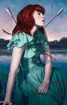Florence + The Machine - Rory Kurtz - Rolling Stone 2015-06-04 ----