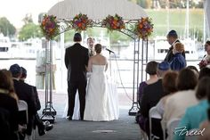 Harborside Tent in the spring...beautiful spot to get married!