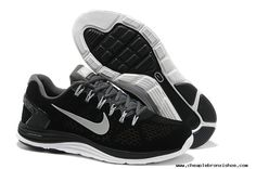 separation shoes 01dd0 92879 For Wholesale Mens Nike LunarGlide 5 Suede Black Grey Silver Shoes