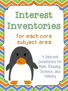"""Use """"Interest Inventories"""" to find out students' attitudes toward different subjects and their preferred methods of instruction"""