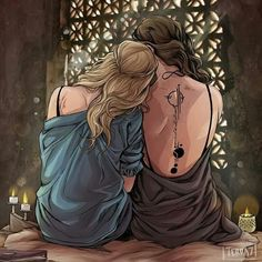 Mor and Feyre