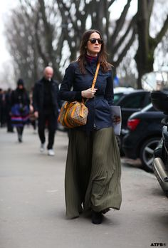 All the pretty birds » Milan Fashion Week Street Style-8 Looks to Love