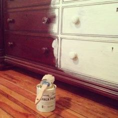 Annie Sloan, Paint Furniture, Furniture Makeover, Annie Chalk Paint, House Made, Diy Room Decor, Home Decor, Painting Tips, Decoupage
