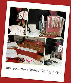 Speed Dating Kit to Host a Speed Dating Event