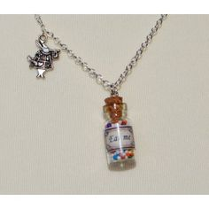 Eat me jar necklace Limited edition Alice in Wonderland Collection