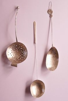 Helena Emmans - Spoons. (So pretty on the pink!)