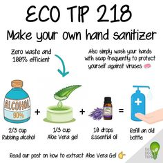 Easy Eco Tips On Instagram Learn How To Make Your Own Homemade