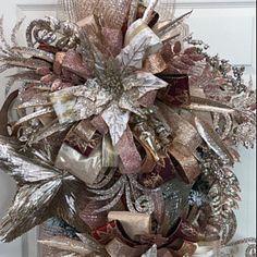Front Door Wreath Wreath for Christmas Best Door Wreath Easter Wreaths, Holiday Wreaths, Christmas Decorations, Holiday Decor, Christmas 2017, Christmas Elf, Rustic Christmas, Make Your Own Wreath, How To Make Wreaths