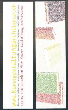 www.kunstgestaltungarchitektur.ch [ganz unten] [Lesezeichen] : Basler Bibliotheken für Kunst Gestaltung Architektur | LibraryThing
